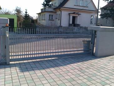 Elektrické otevírání brány